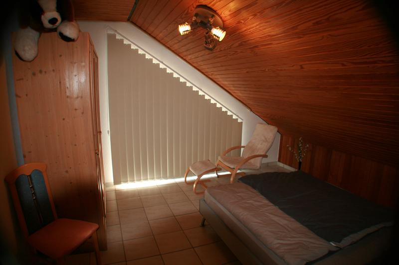 Ferienwohnung Wremen Nordsee, gemuetliches Schlafzimmer